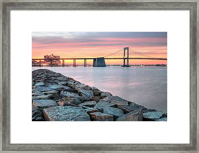 The Jetty Framed Print by JC Findley