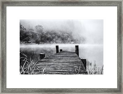 The Jetty Loch Ard Framed Print by John Farnan