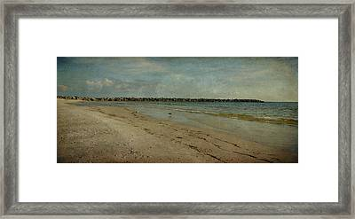 The Jetty Framed Print by Sandy Keeton