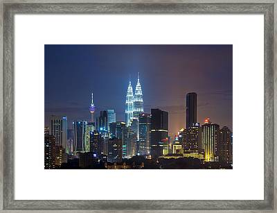 The Jewel In The City Framed Print by Ng Hock How