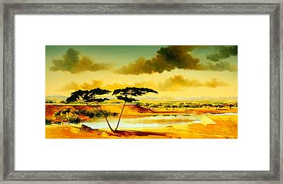 The Jewel Of Hlubluwe Framed Print by Andrew Hewkin