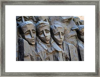 The Jewish Children Framed Print