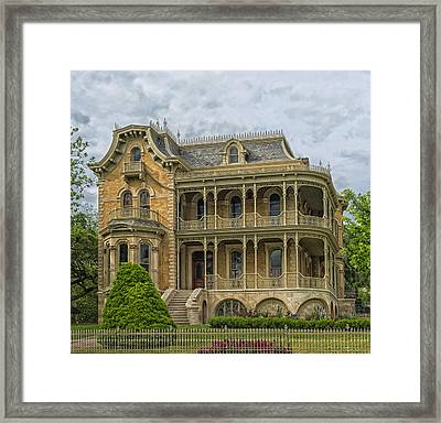 The John Bremond House Of Austin Framed Print by Mountain Dreams