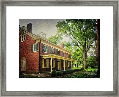 The John Stover House Framed Print by Debra Fedchin
