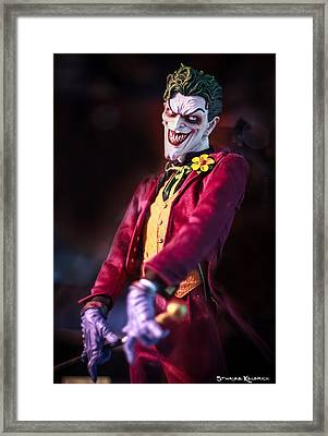 Framed Print featuring the photograph The Joker Dummy by Stwayne Keubrick