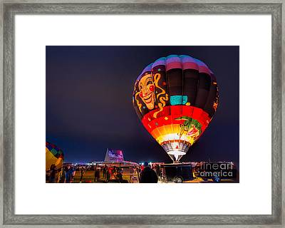 The Joker Framed Print by Mimi Ditchie