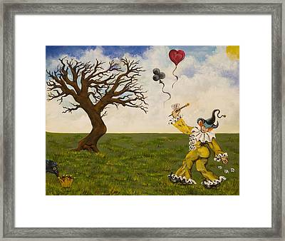 The Jokers Wild Framed Print