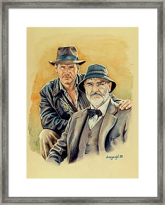 The Jones Boys Framed Print