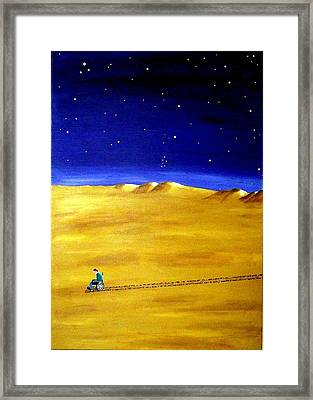 The Journey 2a Framed Print
