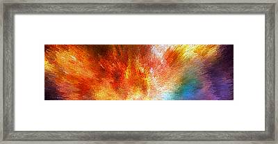 The Journey - Abstract Art By Sharon Cummings Framed Print