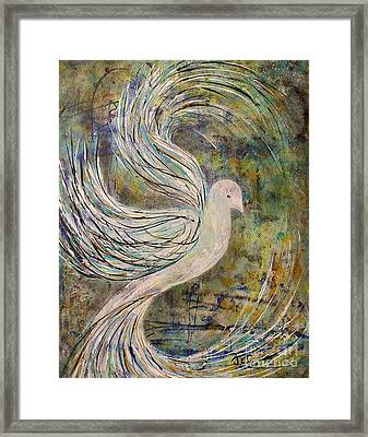 The Journey Begins Framed Print by Jane Chesnut