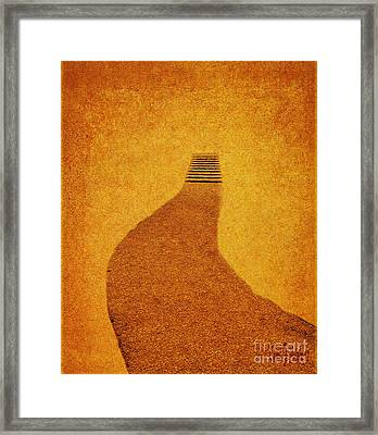 The Journey Framed Print by Carol F Austin