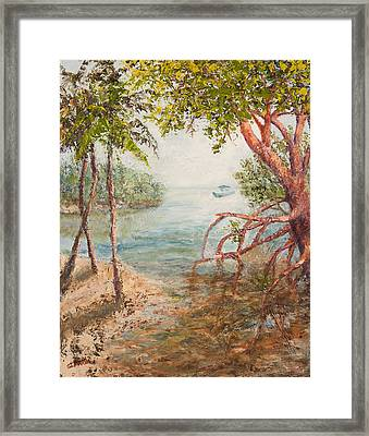 The Journey Home Framed Print by Annie St Martin