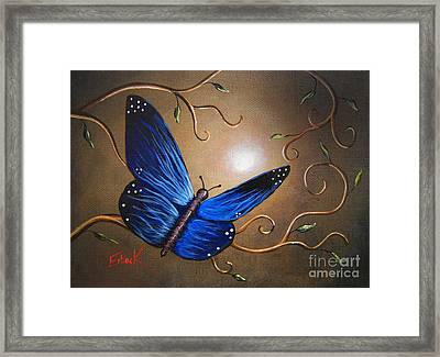 The Journey Home By Shawna Erback Framed Print by Shawna Erback