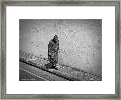 Framed Print featuring the photograph The Journey  by Lucinda Walter