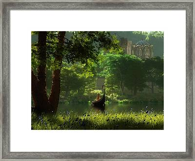 The Journey Framed Print by Melissa Krauss