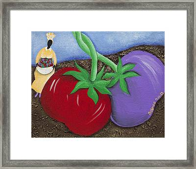 The Journey South Framed Print