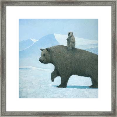 The Journey Framed Print by Steve Mitchell