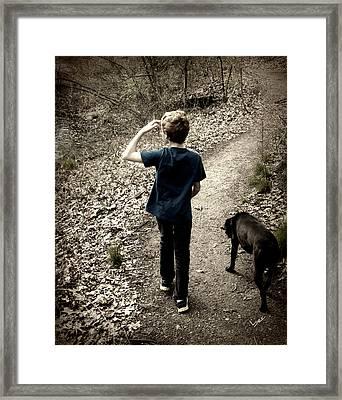 The Journey Together Framed Print