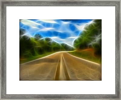 The Journey Framed Print by Wendy J St Christopher