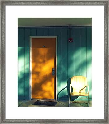 The Joy Motel Framed Print