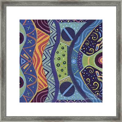 The Joy Of Design X X I I I Framed Print by Helena Tiainen