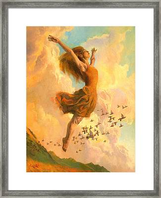 The Joy Of Life Framed Print by Francois Girard