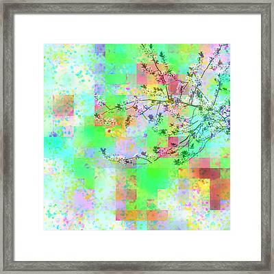 The Joy Of Spring Cherry Tree Series 3 Framed Print by Marianne Campolongo