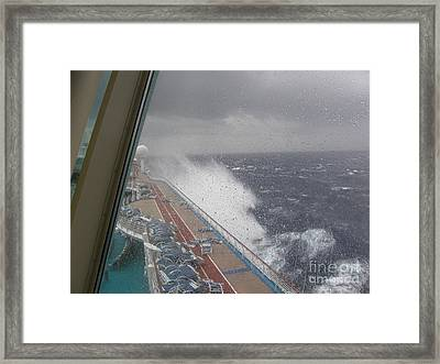 The Joys Of Cruising Framed Print