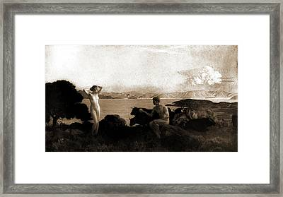 The Judgment Of Paris, Menard, Emile Renard Framed Print
