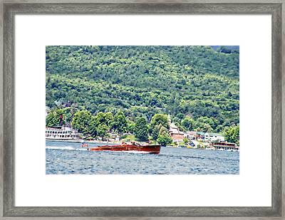 The Jug On Lake George Framed Print