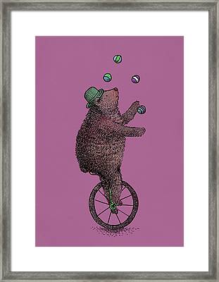 The Juggler Framed Print by Eric Fan