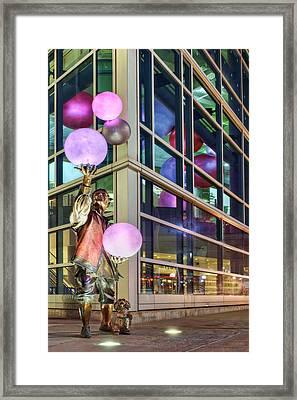 The Juggler Framed Print by Nikolyn McDonald
