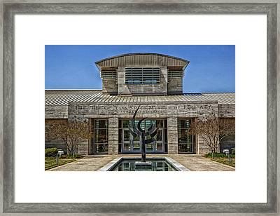 The Jule Collins Smith Museum Of Fine Art Framed Print by Mountain Dreams