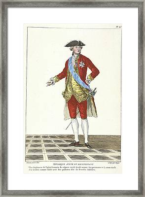 The Just And Kindly Monarch Framed Print