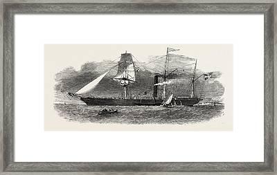 The Jylland, Danish Government Steamer Framed Print