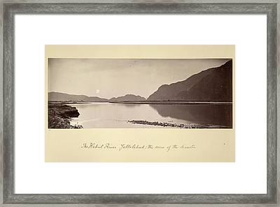 The Kabul River Framed Print by British Library