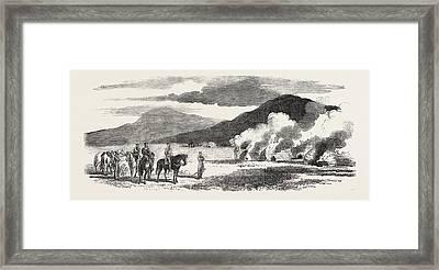 The Kaffir War Part Of Colonel Mackinnons Patrol Framed Print