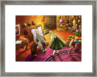 The Kakuna Haberdashery Framed Print