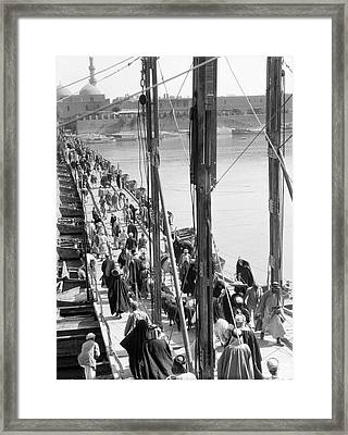 The Katah Bridge Framed Print