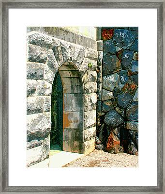 The Keep Biltmore Asheville Nc Framed Print