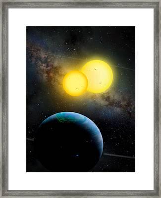 The Kepler 35 System Framed Print by Movie Poster Prints