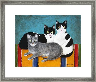 The Kids Framed Print by Marna Edwards Flavell