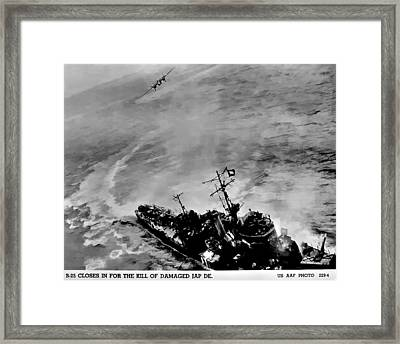 The Kill Framed Print by Unknown