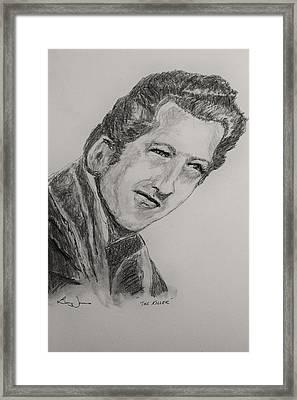 The Killer-2 Framed Print by Barry Jones