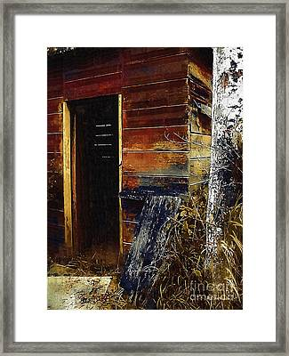 The Killing Shed Framed Print by RC DeWinter