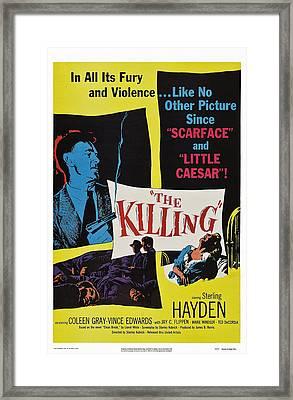 The Killing, Us Poster Art, Sterling Framed Print by Everett