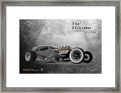 The Kilmister Framed Print