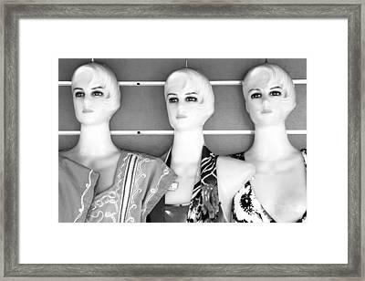 The Kimo Three Framed Print by Jez C Self