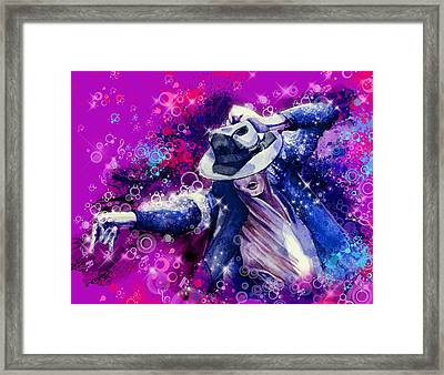 The King 2 Framed Print